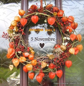 November 5, 2018 Ephemeride