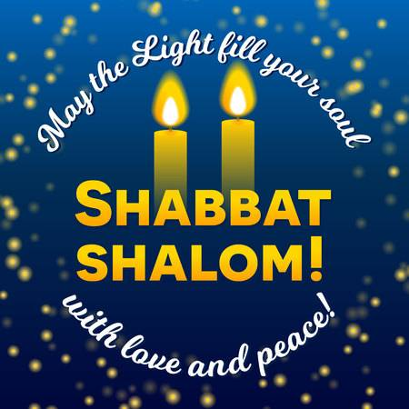 92613840-stock-vector-shabbat-shalom-lettering-greeting-card-vector-illustration-two-burning-shabbat-candles-and-bokeh-bac